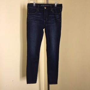 American Eagle super stretch jeggings size 10.